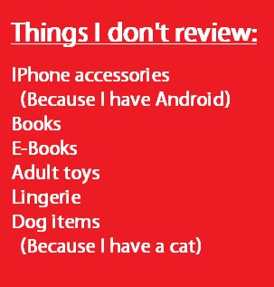 don't review