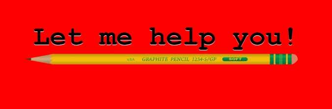 help you pencil