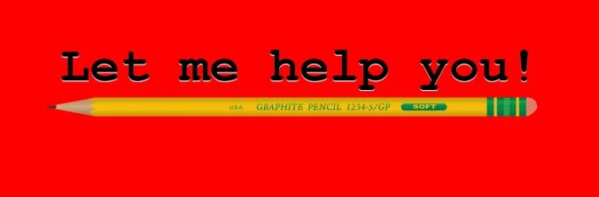 help you pencil